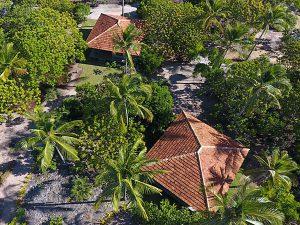 Vista-Aerea-Bangalôs no Sul da Bahia
